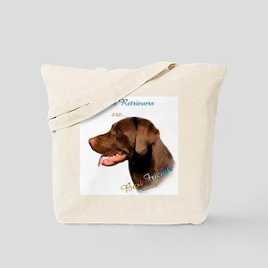 Choclate Lab Best Friend 1 Tote Bag