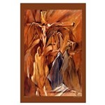 The Crucifixion by E. Thor Carlson Large Poster