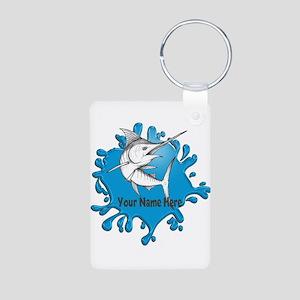 Marlin Art Keychains