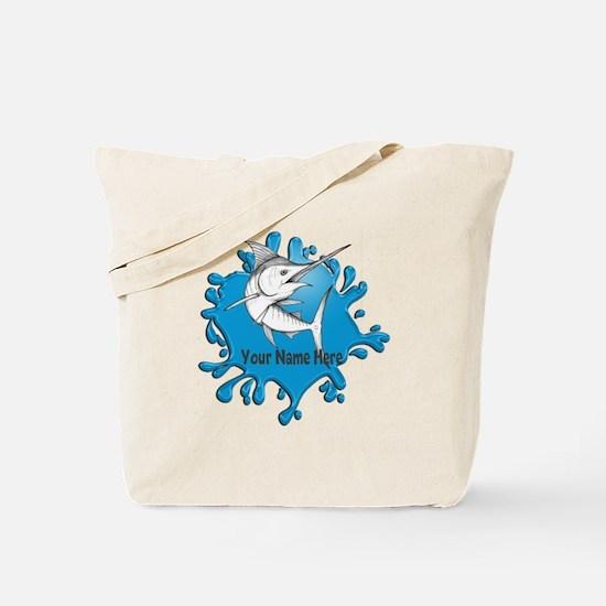 Marlin Art Tote Bag