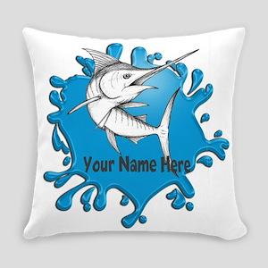 Marlin Art Everyday Pillow