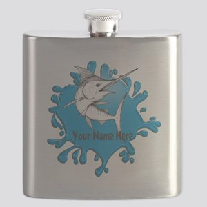 Marlin Art Flask