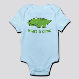 What a Croc Infant Bodysuit