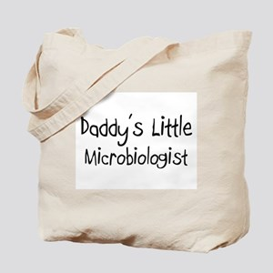 Daddy's Little Microbiologist Tote Bag
