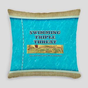 Swimtriple Everyday Pillow