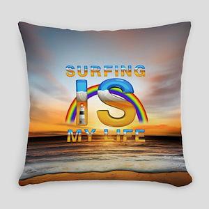 surfingismylife Everyday Pillow