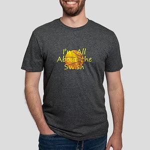bballswish2tran2.png Mens Tri-blend T-Shirt