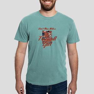 footballgirl.png Mens Comfort Colors Shirt