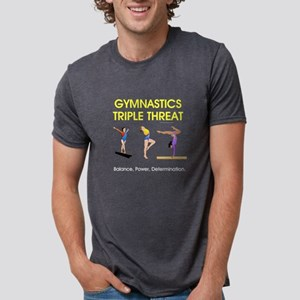 gymnasticsbpdf2 Mens Tri-blend T-Shirt