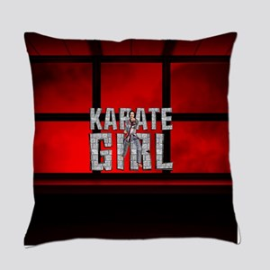 karategirl Everyday Pillow