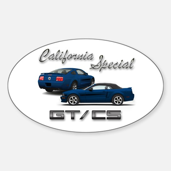 Vista Blue Products Oval Decal