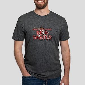 beaskater Mens Tri-blend T-Shirt
