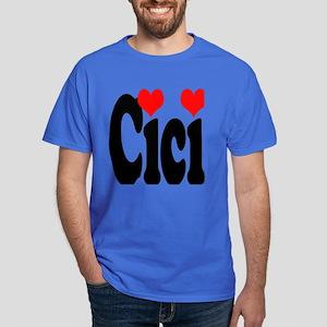 I love Cici Dark T-Shirt