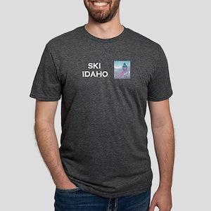 skiidahocap.png Mens Tri-blend T-Shirt