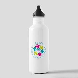 PLTD Logo Clear Background Water Bottle