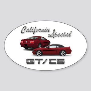 Dark Candy Apple Red Products Oval Sticker