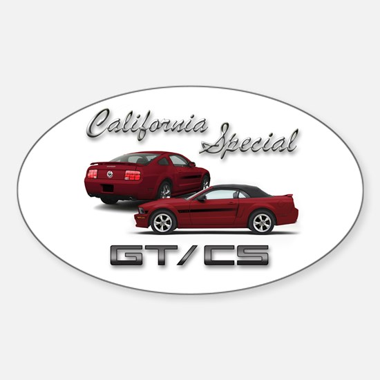 Dark Candy Apple Red Products Oval Decal