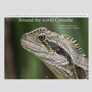 Around the world calendar 1