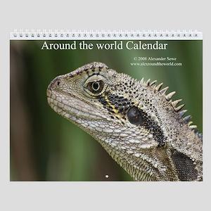 Around the world calendar 1