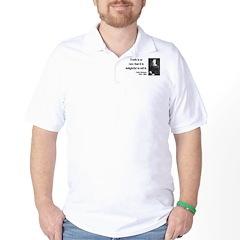 Emily Dickinson 19 Golf Shirt