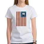 Obama Flag Women's T-Shirt