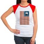 Obama Flag Women's Cap Sleeve T-Shirt