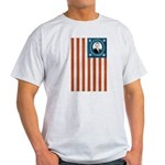Obama Flag Light T-Shirt