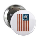 "Obama Flag 2.25"" Button"