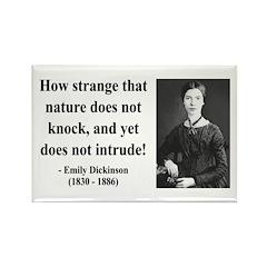 Emily Dickinson 18 Rectangle Magnet (10 pack)