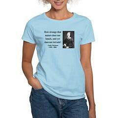Emily Dickinson 18 Women's Light T-Shirt