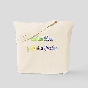 Boricua mom Tote Bag