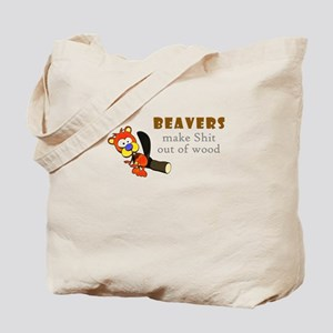 BEAVER Shit Tote Bag
