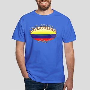Colombia Button Dark T-Shirt