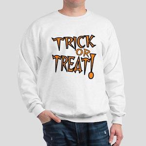 Spooky Trick or Treat Sweatshirt