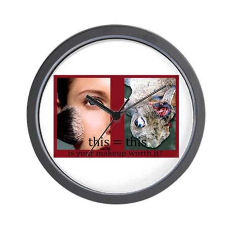 Makeup Test Wall Clock
