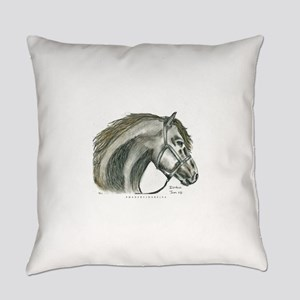 Horse Drawing 1 Everyday Pillow
