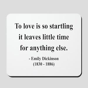 Emily Dickinson 17 Mousepad