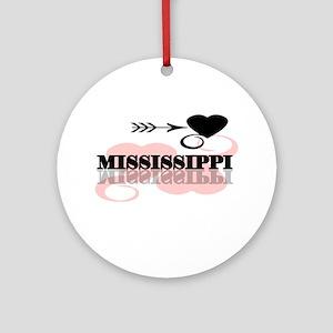 Mississippi Ornament (Round)