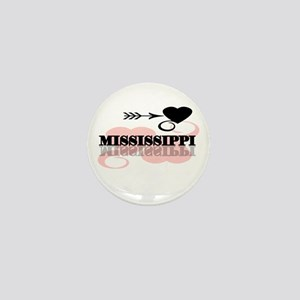 Mississippi Mini Button (10 pack)