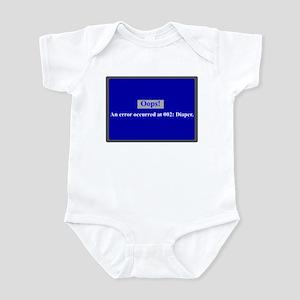 Blue Screen Error Infant Bodysuit