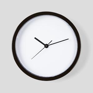 Blood Wall Clock