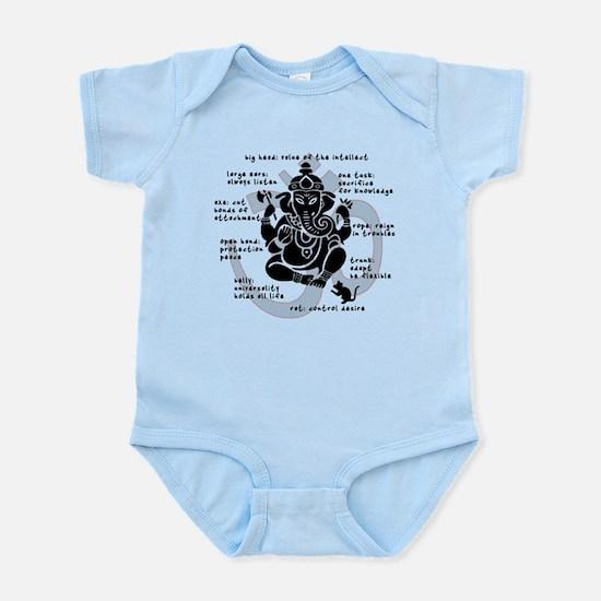 """""""Ganesh 101"""" Infant Bodysuit"""