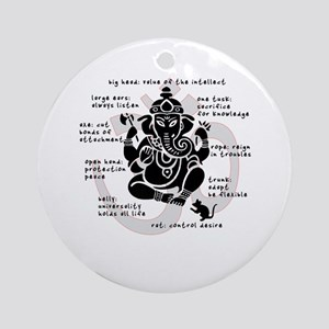 """Ganesh 101"" Ornament (Round)"