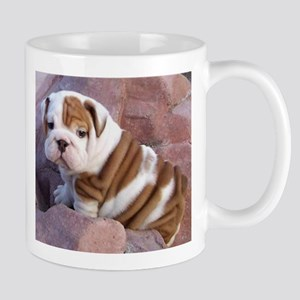 Bulldog coffee mugs and stein Large Mugs