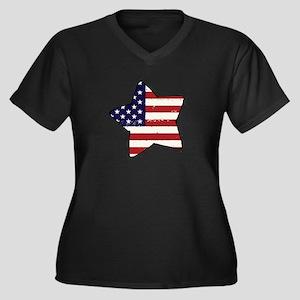 flag Plus Size T-Shirt