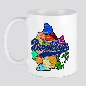 Brooklyn Boro Map Mug