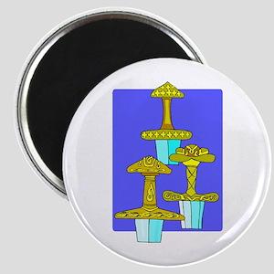 Three Swords Design Magnet