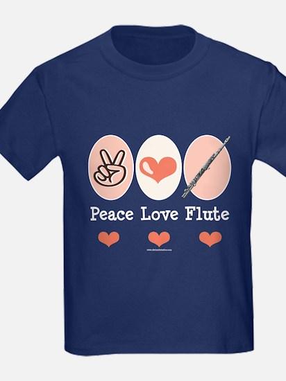 Peace Love Flute T