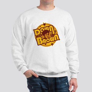 Down with the Brown Sweatshirt
