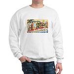 Greetings from Florida Retro Sweatshirt